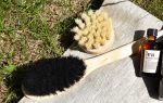 Pesuharjat saavat ihon tuntumaan pehmeältä. Kuva: Tia Yliskylä