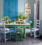 Annie Sloan Chalk Paint -sisustusmaalilla voi elvyttää vanhan huonekalun, seinät, katot ja lattiat helposti. Kuva: Annie Sloan