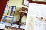 Annie Sloan -ideakirjat neuvovat ja inspiroivat. Wetterhoff järjestää elo-syyskuussa maalauskurssin. Kuva: Tia Yliskylä