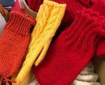Lämmittävät villalapaset löytävät tiensä pukin konttiin.