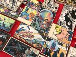 CAPSLOCK Helsingin sarjakuvataulut tekivät hyvin kauppansa.
