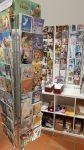 Korttien Talo sijaitsee Wetterhoff-myymälässä. Valikoimaan kuuluvat esimerkiksi Martta Wendelinin klassikkokortit. Kuva: Maija Lahtela